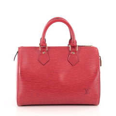 Louis Vuitton Speedy Handbag Epi Leather 25 Red 1838902