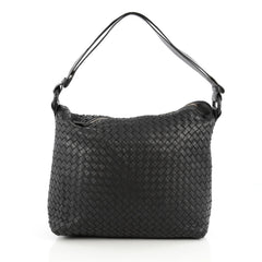 Bottega Veneta Zip Top Messenger Intrecciato Nappa Large 1853801