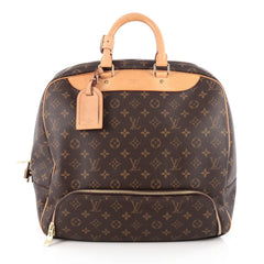 Louis Vuitton Evasion Travel Bag Monogram Canvas MM Brown 1866501
