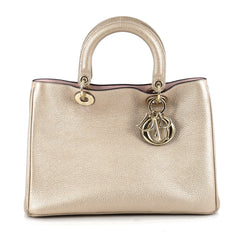 Christian Dior Diorissimo Tote Pebbled Leather Medium 1874701