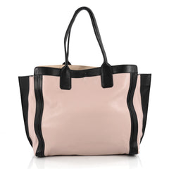 Chloe Alison East West Tote Leather Large Pink