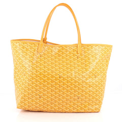 Goyard St. Louis Tote Coated Canvas GM Yellow 1891501