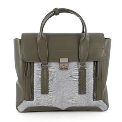 3.1 Phillip Lim Pashli Satchel Lizard Embossed and 1896801