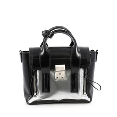 3.1 Phillip Lim Pashli Satchel Patent Mini Black 1896805