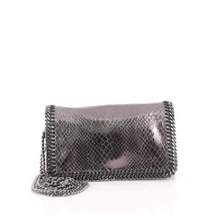 Stella McCartney Falabella Crossbody Bag Faux Snakeskin 1896816