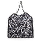 Stella McCartney Falabella Tote Printed Canvas Large Blue
