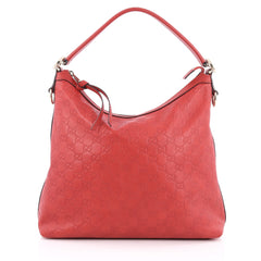 Gucci Miss GG Hobo Guccissima Leather Red 1899801