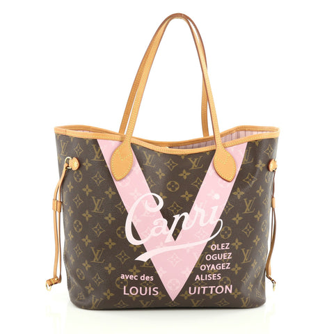c3c3204d4ec8 Buy Louis Vuitton Neverfull Tote Limited Edition Cities V 1920801 – Rebag