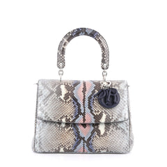 Christian Dior Be Dior Bag Python Medium Blue 1923801