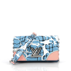 Louis Vuitton Twist Chain Wallet Limited Edition Aqua 1927808