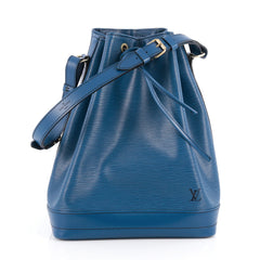 Louis Vuitton Noe Handbag Epi Leather Large Blue 1929901