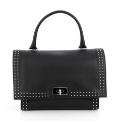 Givenchy Shark Convertible Satchel Studded Leather Small 1944301