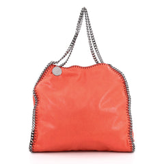 Stella McCartney Falabella Tote Shaggy Deer Small Red 1944407