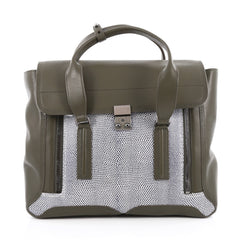 3.1 Phillip Lim Pashli Satchel Lizard Embossed and 1944420