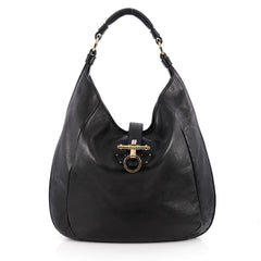 Givenchy Obsedia Hobo Leather Large Black