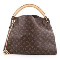 Louis Vuitton Artsy Handbag Monogram Canvas MM Brown 1954102