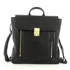 3.1 Phillip Lim Pashli Backpack Leather Black 1957101