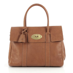 Mulberry Bayswater Satchel Leather Medium Brown