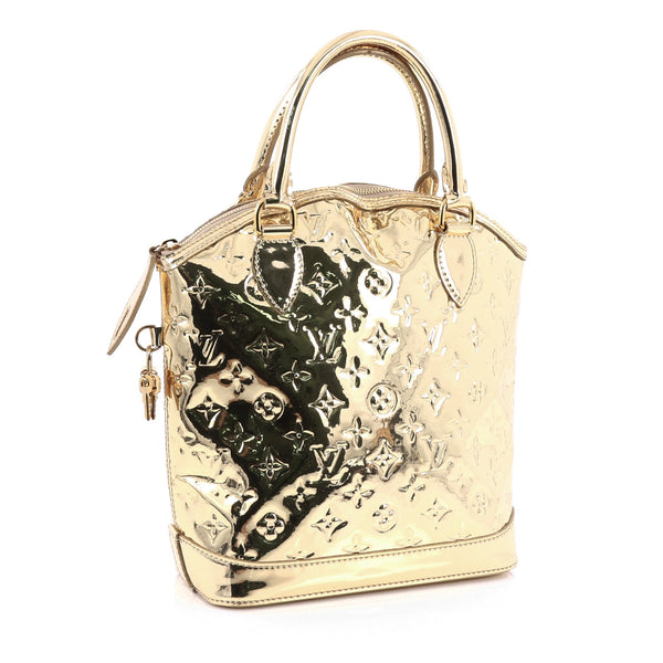 Buy louis vuitton lockit handbag miroir pvc gold 1962707 for Collection miroir chanel