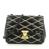Louis Vuitton Pochette Flap Malletage Leather Black 1969204