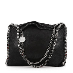 Stella McCartney Falabella Tote Shaggy Deer Small Black 1969801