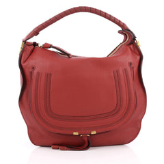 Chloe Marcie Hobo Leather Large Red 1969802