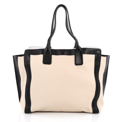 Chloe Alison East West Tote Leather Medium Black 1977610
