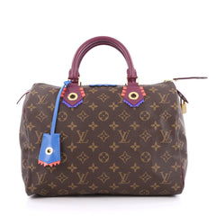 Louis Vuitton Speedy Handbag Limited Edition Totem 1992701