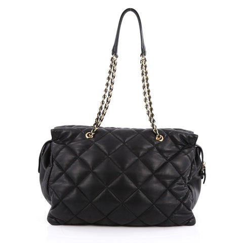 709cfd5b9b Buy Salvatore Ferragamo Ginette Chain Shoulder Bag Quilted 1994901 ...