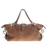 Gucci Bamboo Bar Shoulder Bag Leather Large