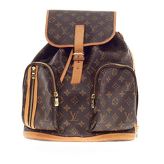 Louis Vuitton Bosphore Backpack Monogram Canvas -