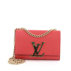 Chain Louise Clutch Leather MM