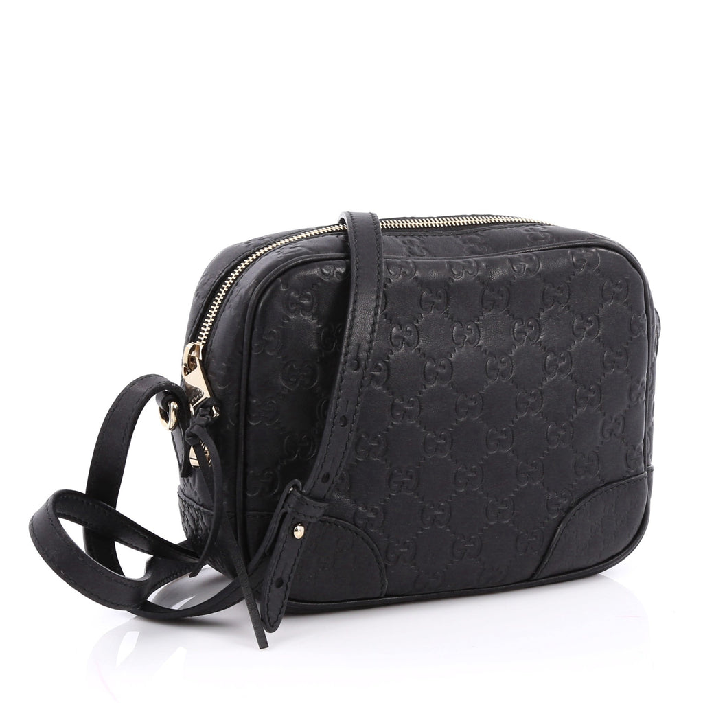 top fashion browse latest collections outlet online Gucci Bree Disco Crossbody Bag Guccissima Leather Mini