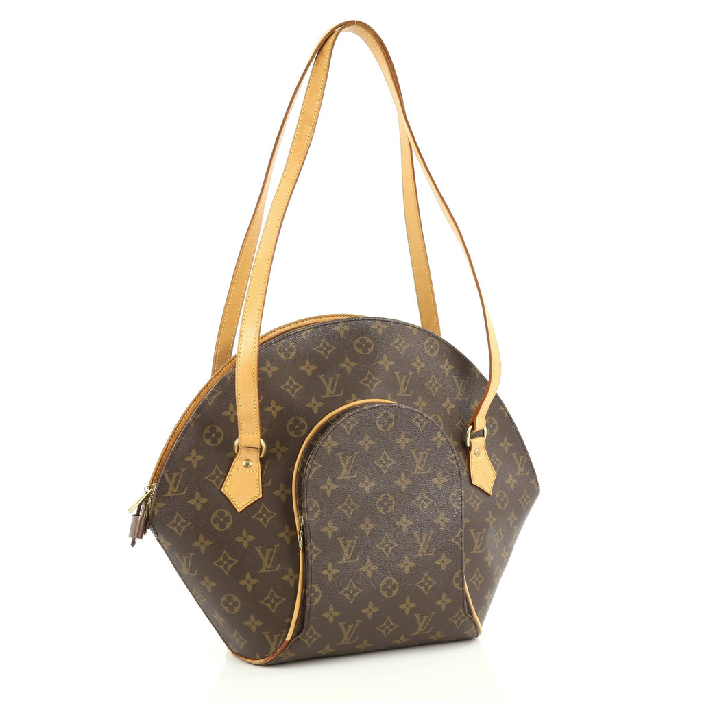 Buy louis vuitton ellipse bag monogram canvas gm brown for Louis vuitton miroir bags