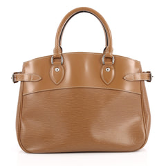 Louis Vuitton Passy Handbag Epi Leather PM Brown 2038902