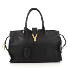 Saint Laurent Classic Y Cabas Leather Medium Black 2039801