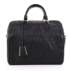 Louis Vuitton Paris Speedy Cube Bag Embossed Leather 30 2045103