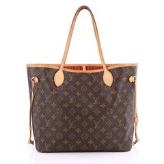 Louis Vuitton Neverfull NM Tote Monogram Canvas MM Brown 2055101