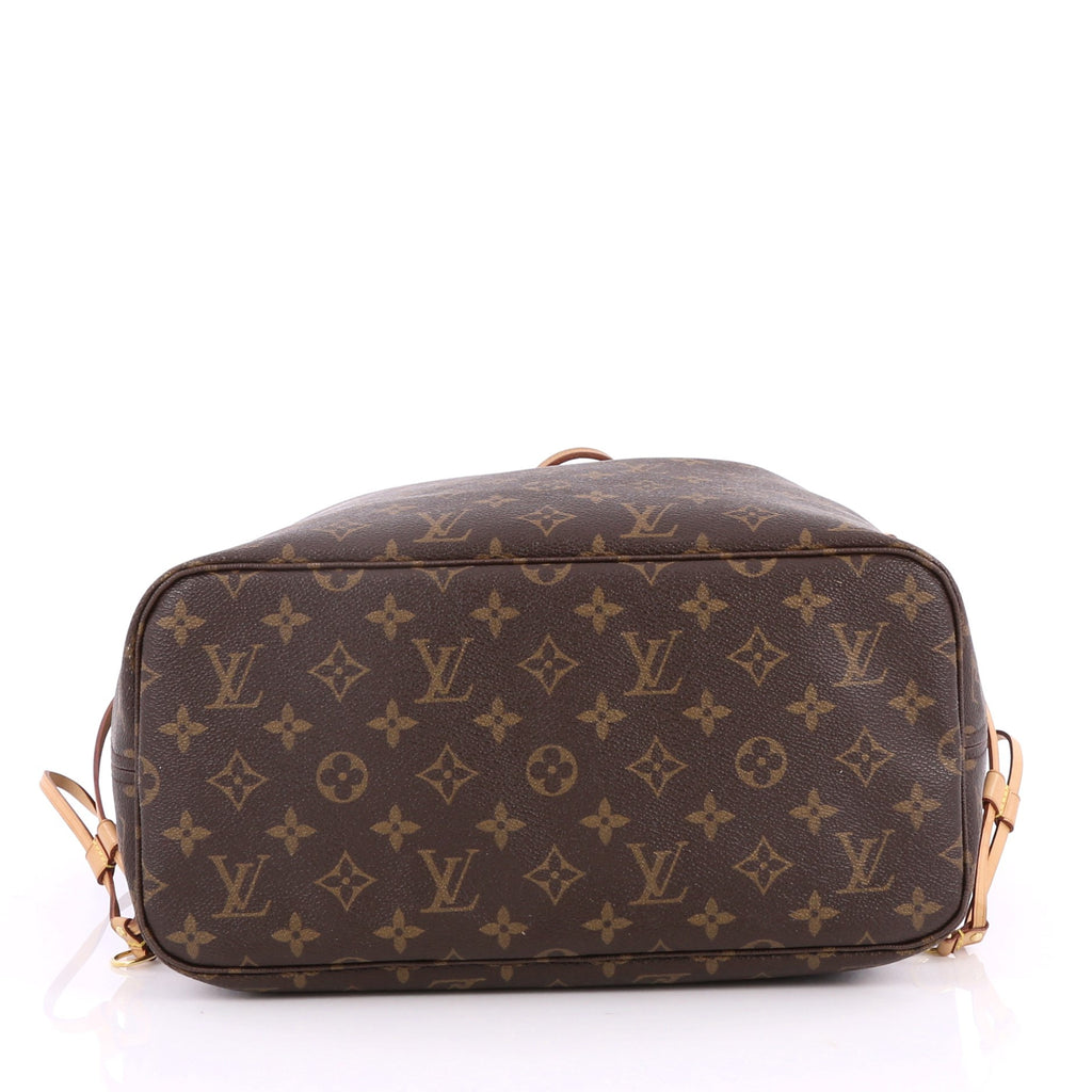 Sac Louis Vuitton Neverfull Mm : Buy louis vuitton neverfull nm tote monogram canvas mm brown  trendlee