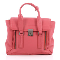3.1 Phillip Lim Pashli Satchel Leather Medium Pink 2057201