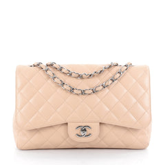 Chanel Classic Single Flap Bag Quilted Caviar Jumbo 2061303