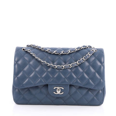 Chanel Classic Double Flap Bag Quilted Lambskin Jumbo 2061304