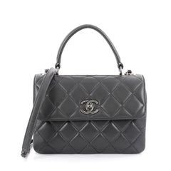 Chanel Trendy CC Top Handle Bag Quilted Lambskin Small 2061704
