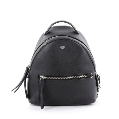 Buy Fendi By The Way Backpack Leather with Crystals Mini 2072304 – Rebag e0ad4004e4e95