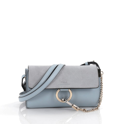 5b012dd4 Faye Shoulder Bag Leather and Suede Mini