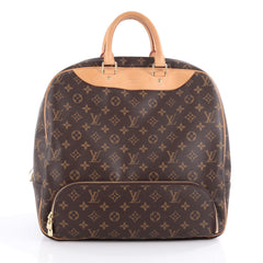 Louis Vuitton Evasion Travel Bag Monogram Canvas MM 2091201