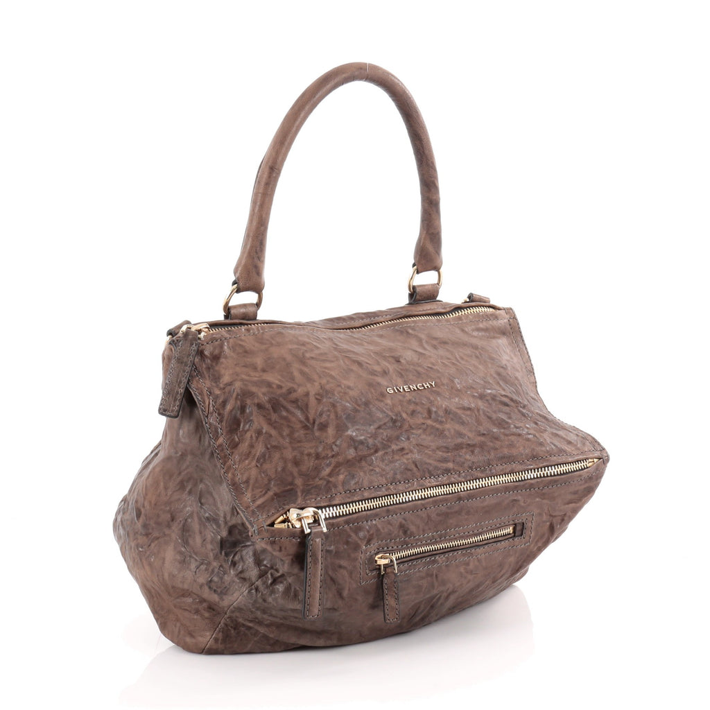 e1d79b5c8a Buy Givenchy Pandora Bag Distressed Leather Medium Brown 2095701 – Rebag