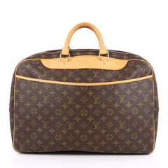 Louis Vuitton Alize Bag Monogram Canvas 24 Heures Brown 2100901