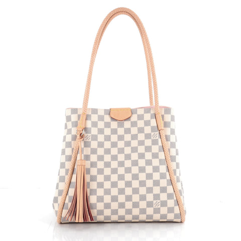 ca97b3fb515e Buy Louis Vuitton Propriano Handbag Damier White 2101201 – Rebag