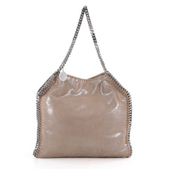 Stella McCartney Falabella Tote Shaggy Deer Small Brown 2105801